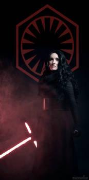 Enforcer for the First Order - Fem Kylo Ren
