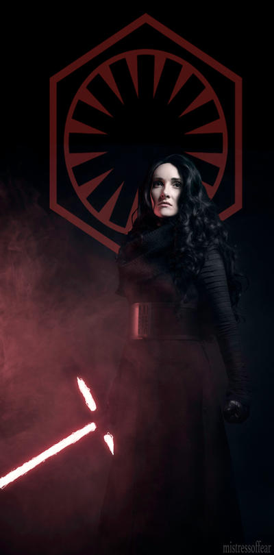 Enforcer for the First Order - Fem Kylo Ren by beckyalbright
