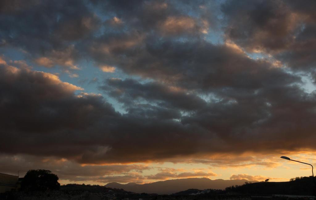 City street @ sunset by Tonxs