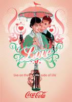 Coca-Cola Valentine by Coca-Cola-ArtGallery
