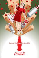 Coca-Cola Bowling Girl by Coca-Cola-ArtGallery