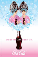Retro Glamour Girls by Coca-Cola-ArtGallery