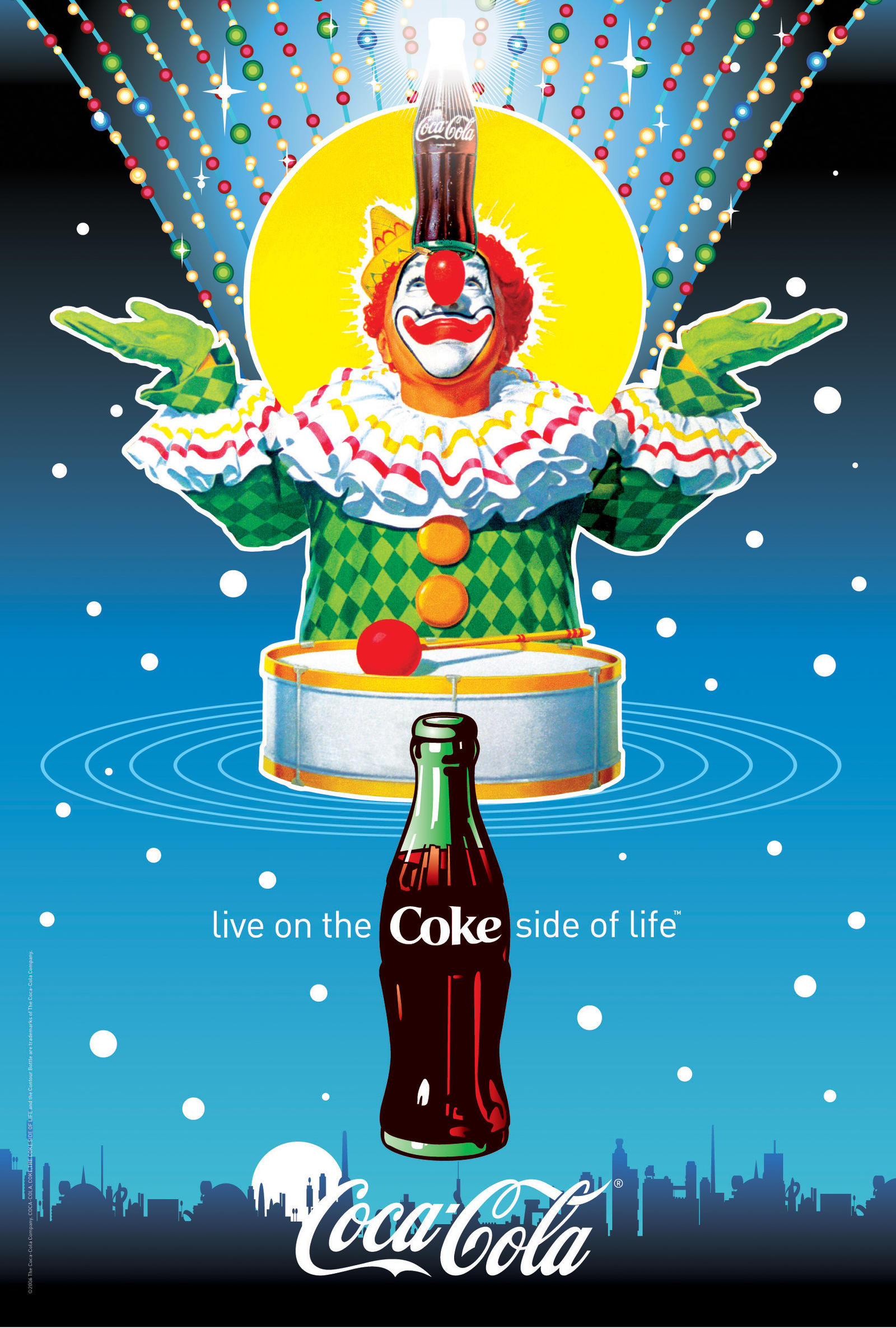 Coca-Cola Circus Poster by Coca-Cola-ArtGallery
