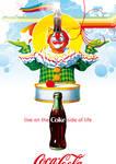 Coca-Cola Clown Poster