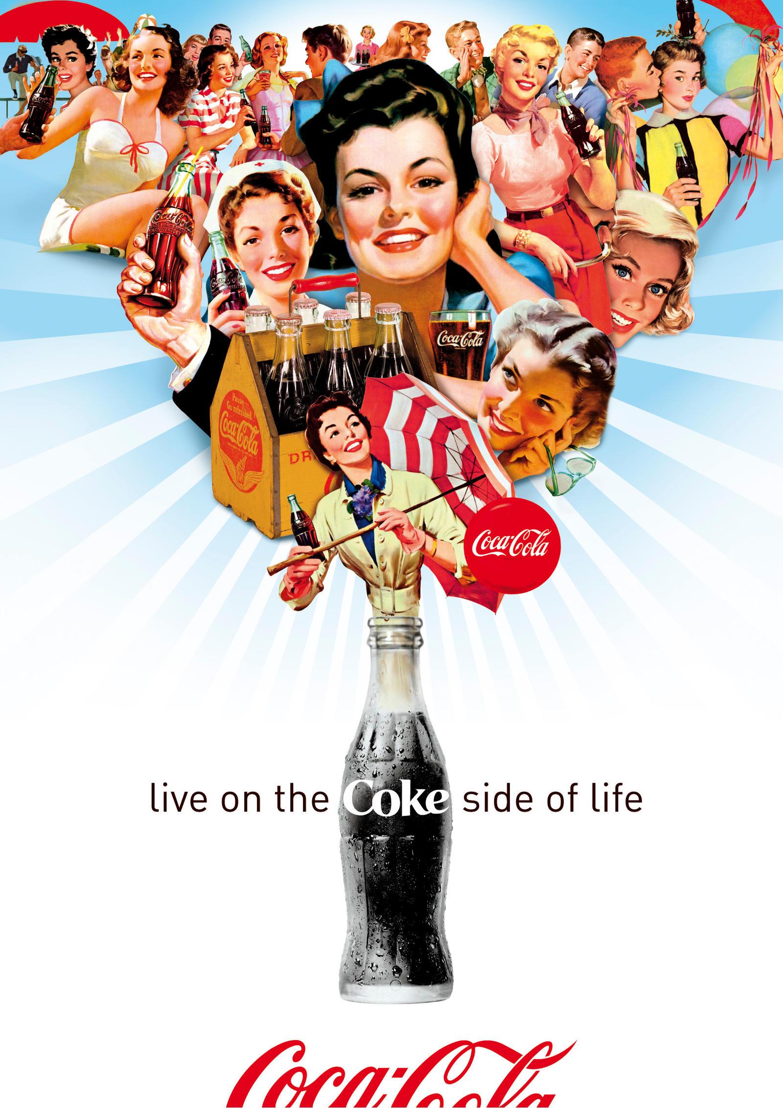 Coca-Cola Girls - Summer Days