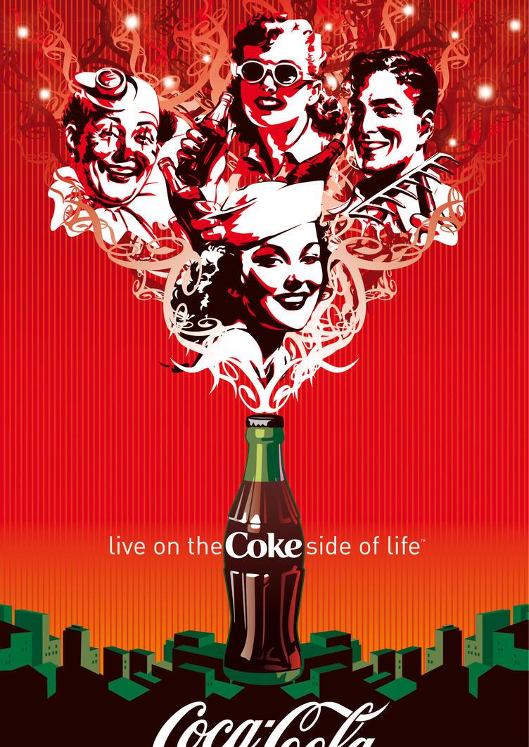 Coca-Cola - Summer in the City by Coca-Cola-ArtGallery