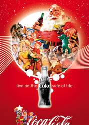 Coca-Cola Santa Christmas