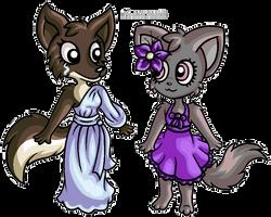 PC: Arisu and Twinkle. by MezmeroMania