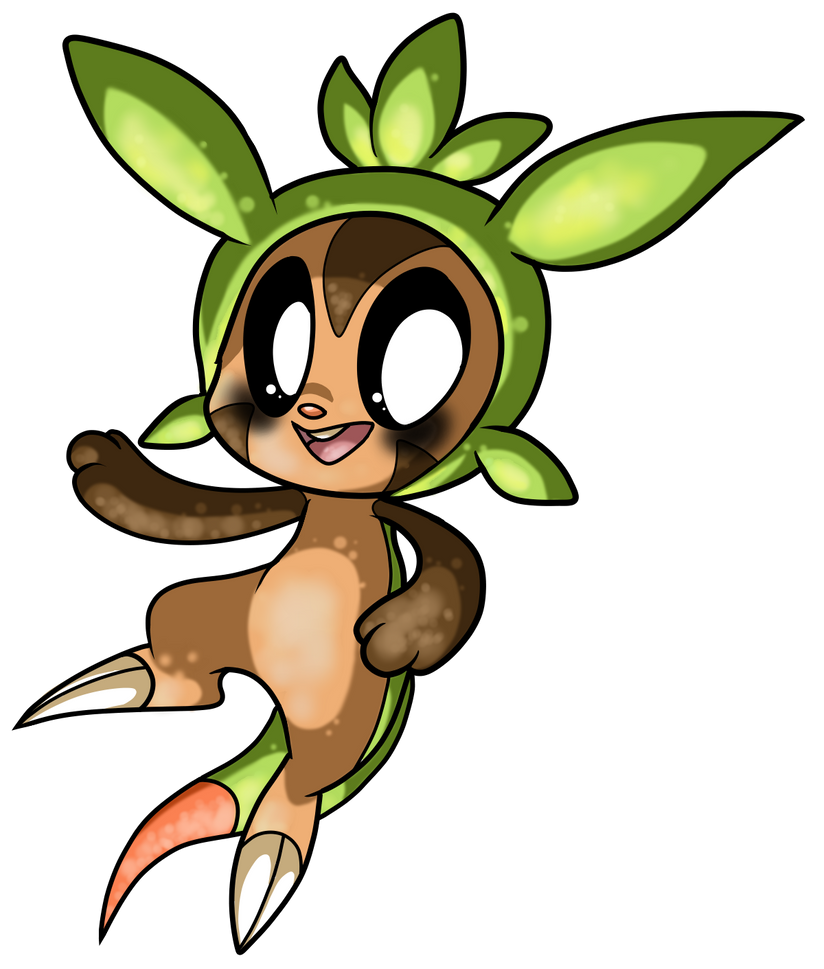 Chespin. by Mesmeromania