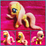 Needle Felted Posable Fluttershy!