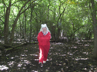 InuYasha In The Woods by onionhead1