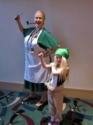 PInako and Winry Cosplays by onionhead1