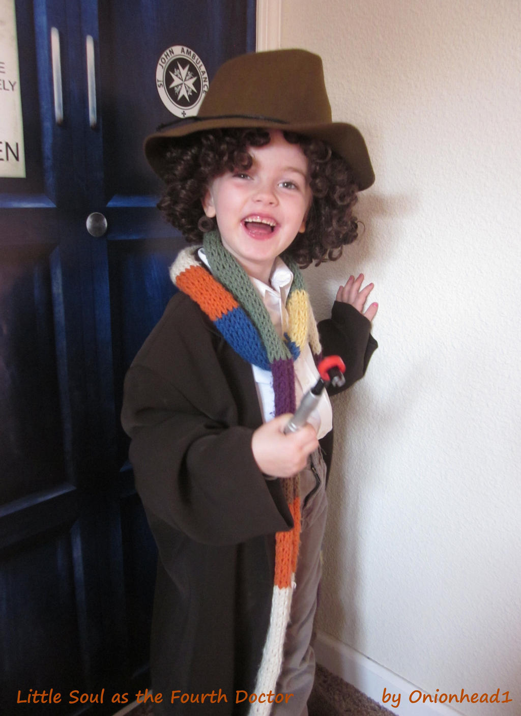 Little Soul as the Fourth Doctor by onionhead1