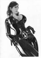 Black Widow - Denise by TimGrayson