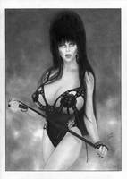 Elvira Mistress of the Dark Cassandra Peterson by TimGrayson