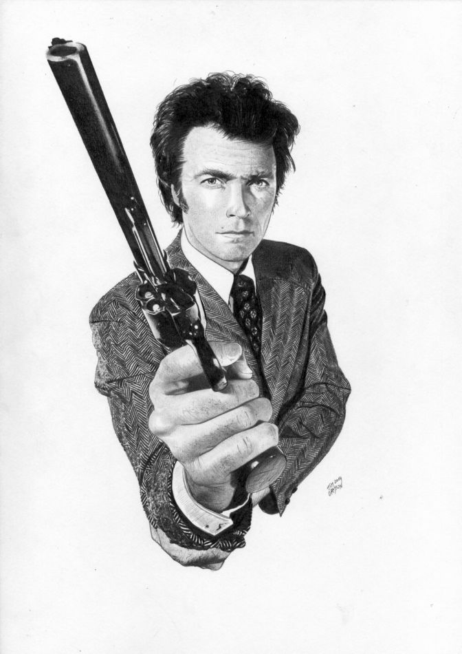 Dirty Harry Gun Drawing