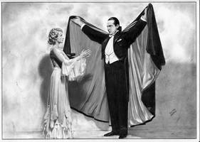 Dracula Bela Lugosi Helen Chandler by TimGrayson
