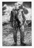 Frankenstein Boris Karloff by TimGrayson