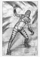 CREATURE from BLACK LAGOON by TimGrayson