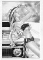 Cowgirl Western by TimGrayson