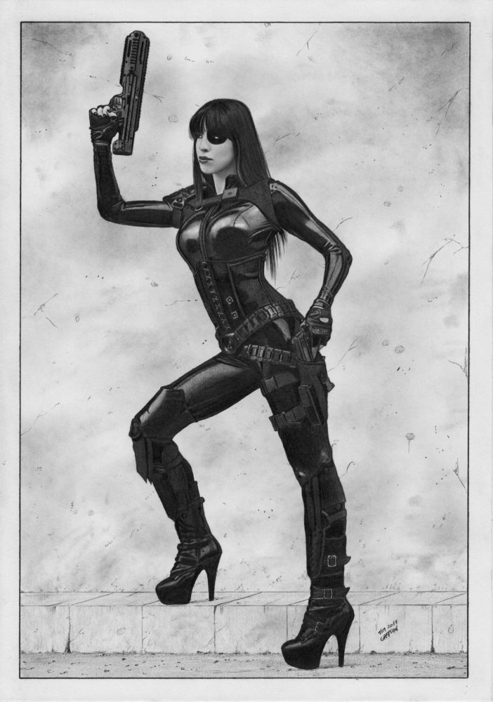 Domino Deadpool X-Force by TimGrayson