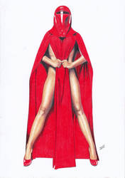 STAR WARS Imperial Guard Red Emperor's Royal