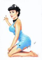 Betty Barney Flintstones by TimGrayson