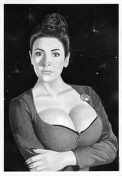 Star Trek Deanna Troi Next Generation by TimGrayson