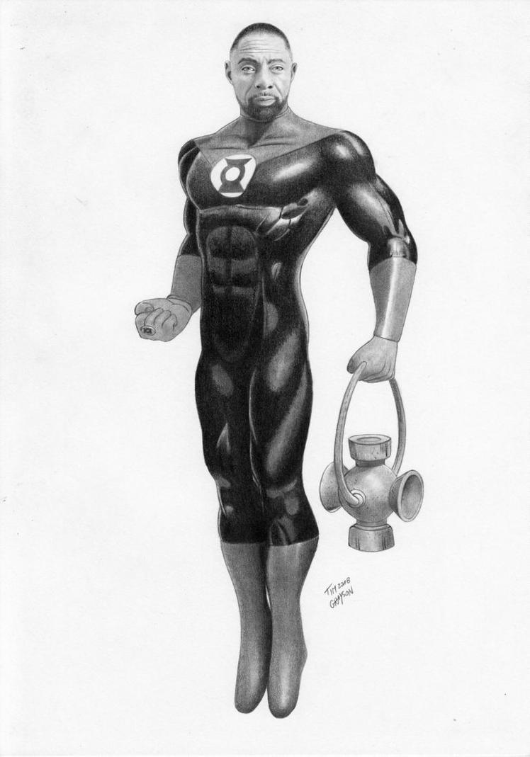 Green Lantern John Stewart by TimGrayson