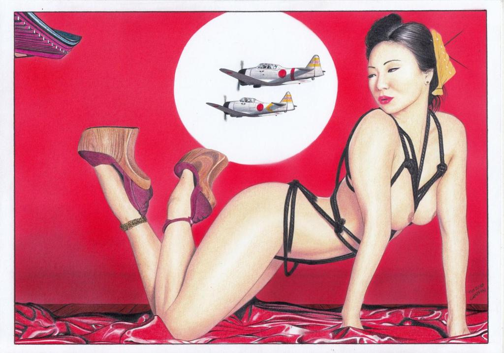 KATANA Bombshells Japan Agent Carter warbids by TimGrayson