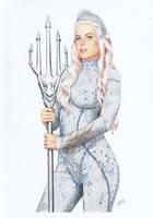 Atlanna Aquaman by TimGrayson