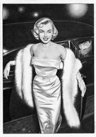 The Shadow Margo Lane - Marilyn Monroe by TimGrayson