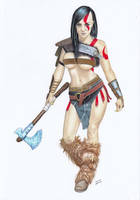 GOD of WAR Kratos by TimGrayson