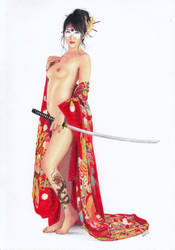 KATANA Bombshells Japan by TimGrayson