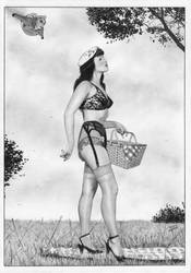 The Rockeeter Betty Page by TimGrayson