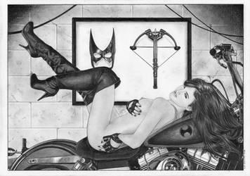 HUNTRESS Batman by TimGrayson