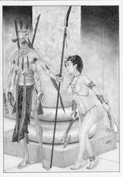 DEJAH THORIS Warlord Mars by TimGrayson