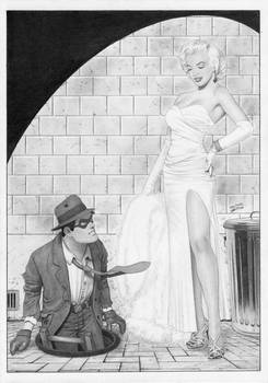 The SPIRIT Will Eisner Marilyn Monroe