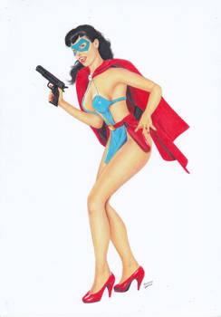 Phantom Lady Betty Page