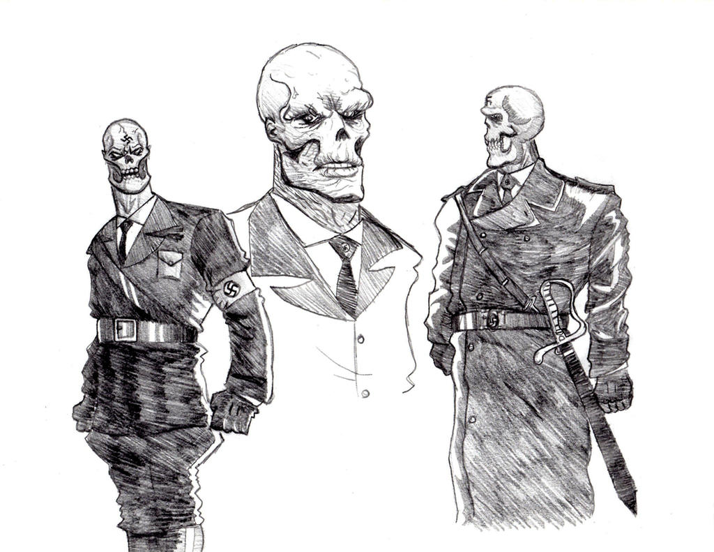 Red Skull Dance Party by Dolphinator45