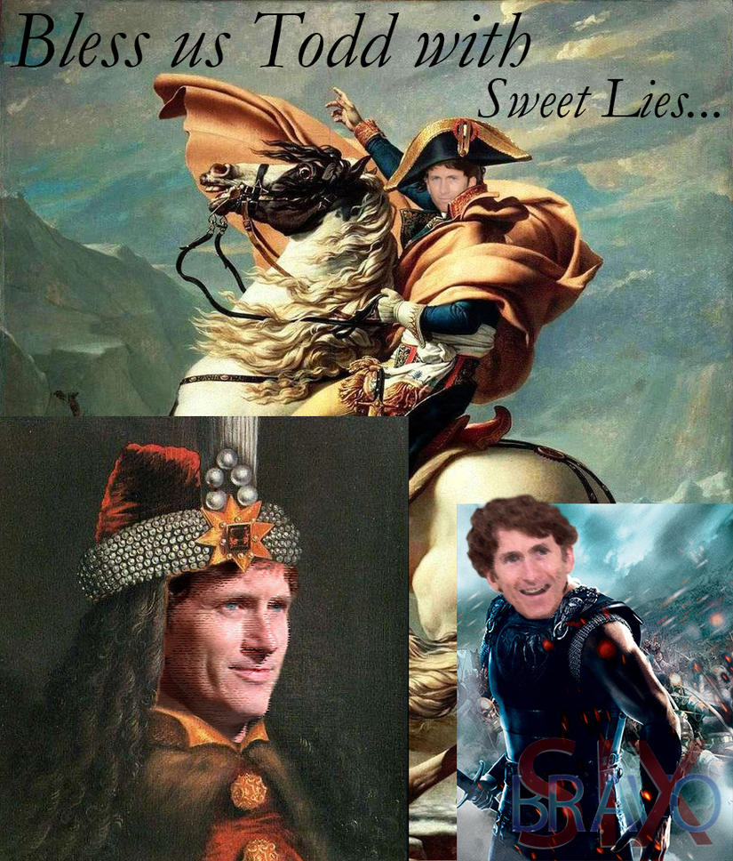 The Sweet Prince Todd Howard by bsix112