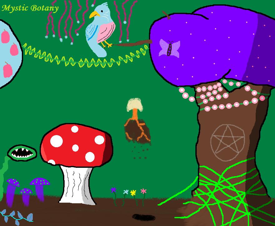 Mystic Botany by FabianMoonwillo