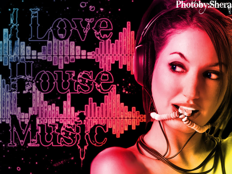I Love House Music By Serooon1 On Deviantart
