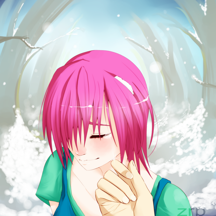 - Elfen Lied - Our First Snow by Zuriko-chan