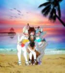 Beach babes~