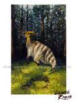 Happy Parasaurolophus