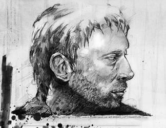 Thom Yorke by Amacdesigns