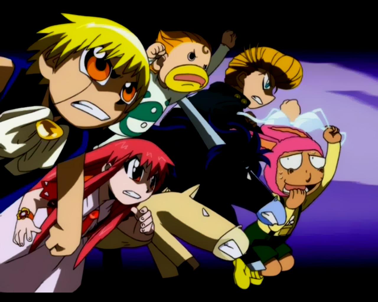 Animax Cartoon Wallpaper zatch bell pictures
