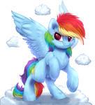Little Rainbow Dash!