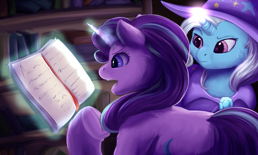 Something strange in this book... by PeachMayFlower
